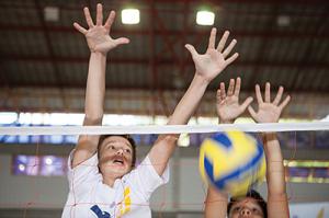 Esportes coletivos: trabalho em equipe