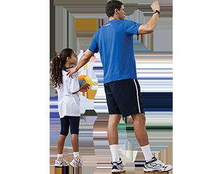 Atividades físicas com crianças
